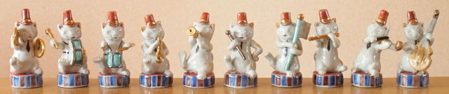マーチング猫バンド